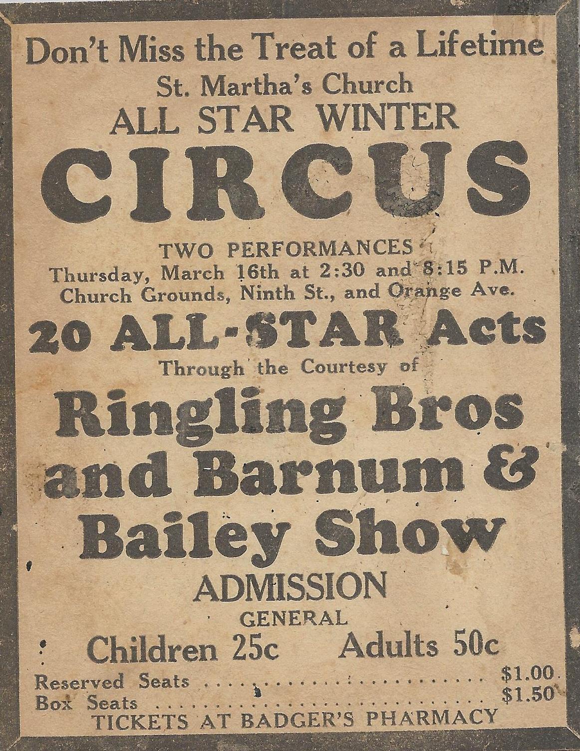 Circus Ad