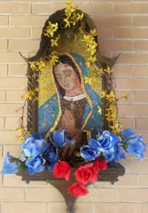 Our Lady of Guadalupe Wall Statue