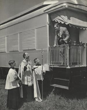 Blessing of Circus Train 1948