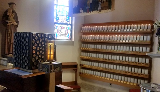 Votive Candle Wall2