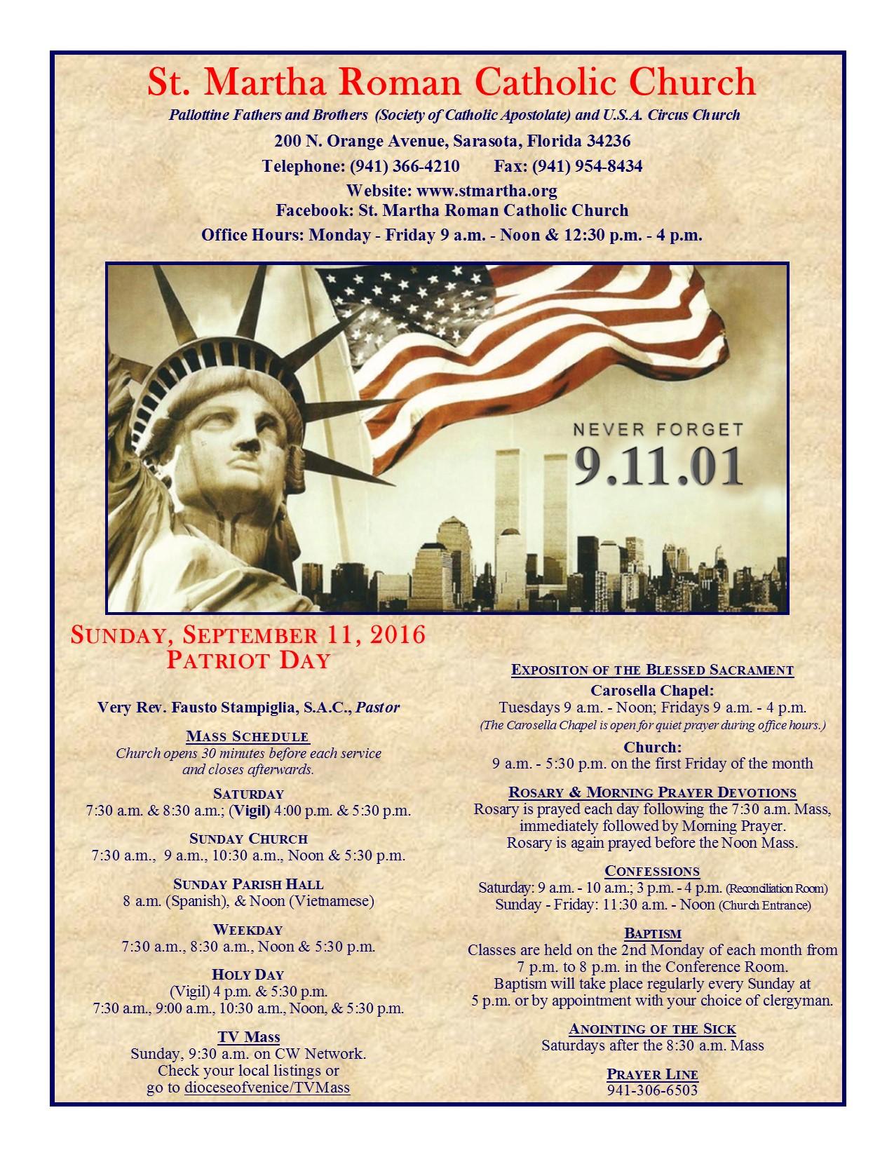 September 11 Cover
