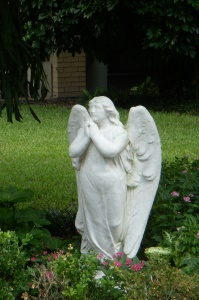 Angel in Courtyard