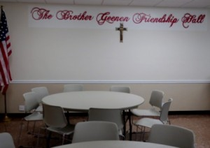 Brother Geenen Friendship Hall Sign