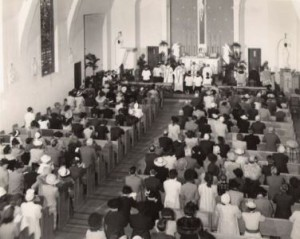 Church dedication 1942