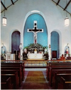 Church Interior 1950