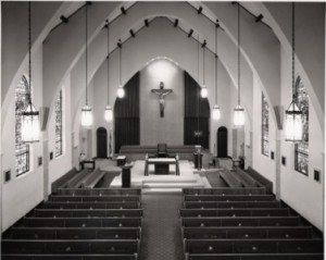 Church renovation 1975