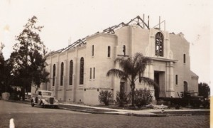 Church under construction 1940-1941