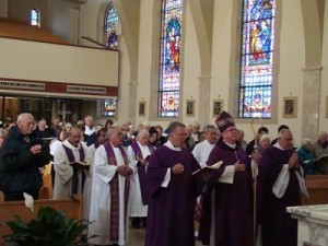 Feast of the Annunciation Mass at St. Martha Church