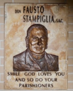 Fr. Fausto Plaque
