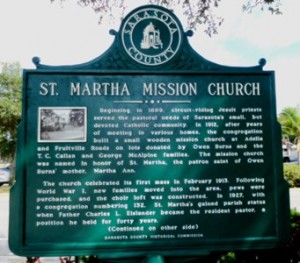 Historical Marker - front side