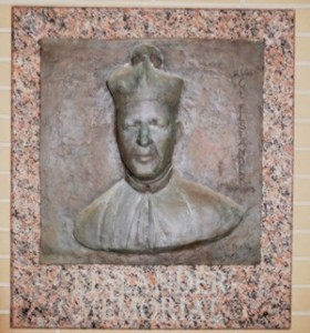 Monsignor Elslander plaque