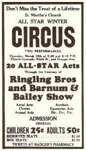 Ringling Circus ticket