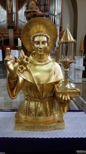 St. Anthony's Relics from is Basilica in Padua, Italy