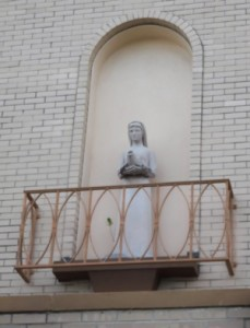 Statue of St. Martha